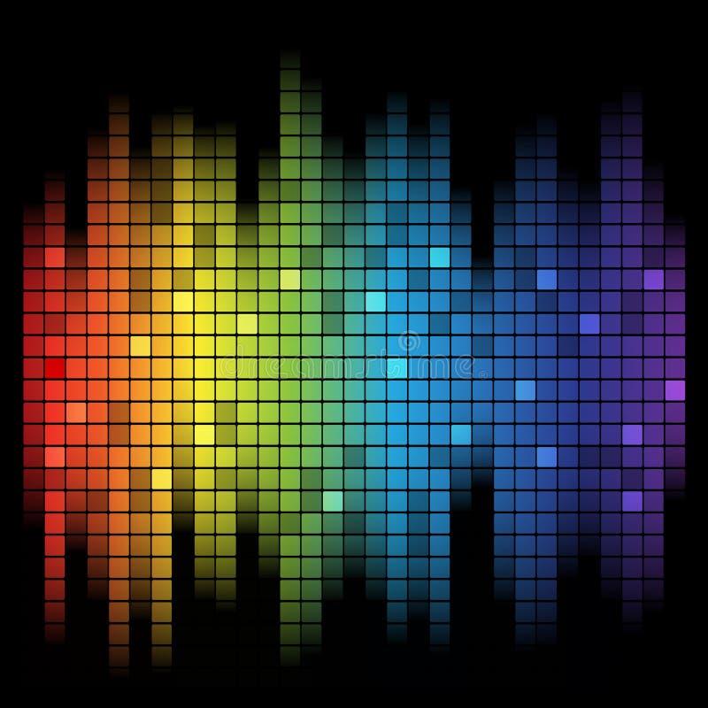 Ljud av musik royaltyfri illustrationer