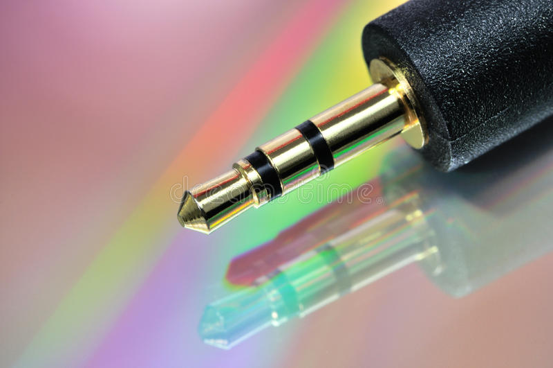 ljudsignal stålar royaltyfri foto