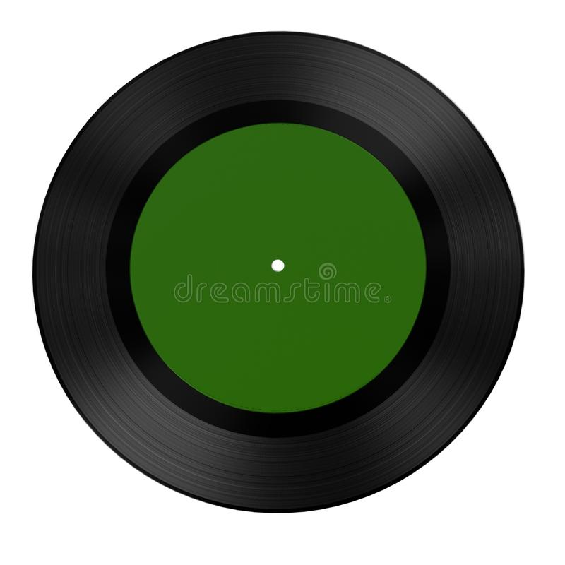 Ljudsignalrekord (vinyl) stock illustrationer