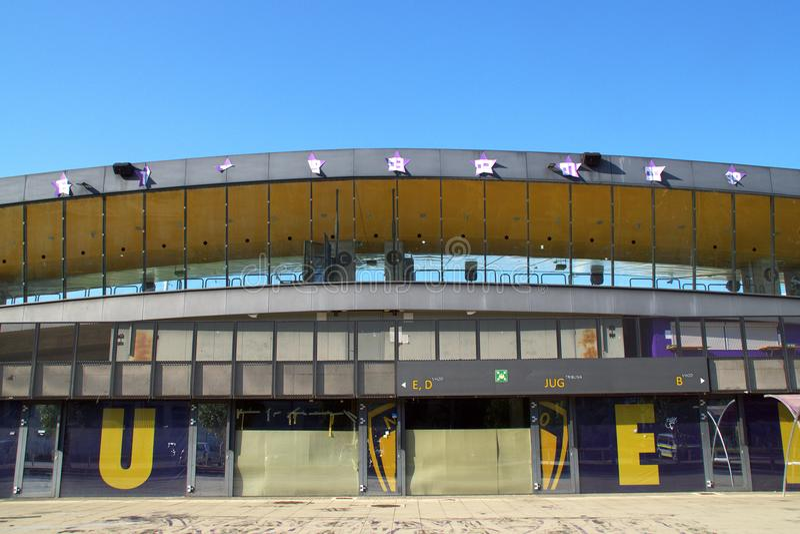 Ljudski Vrt Football Stadion Maribor, Slovenia royalty free stock photo