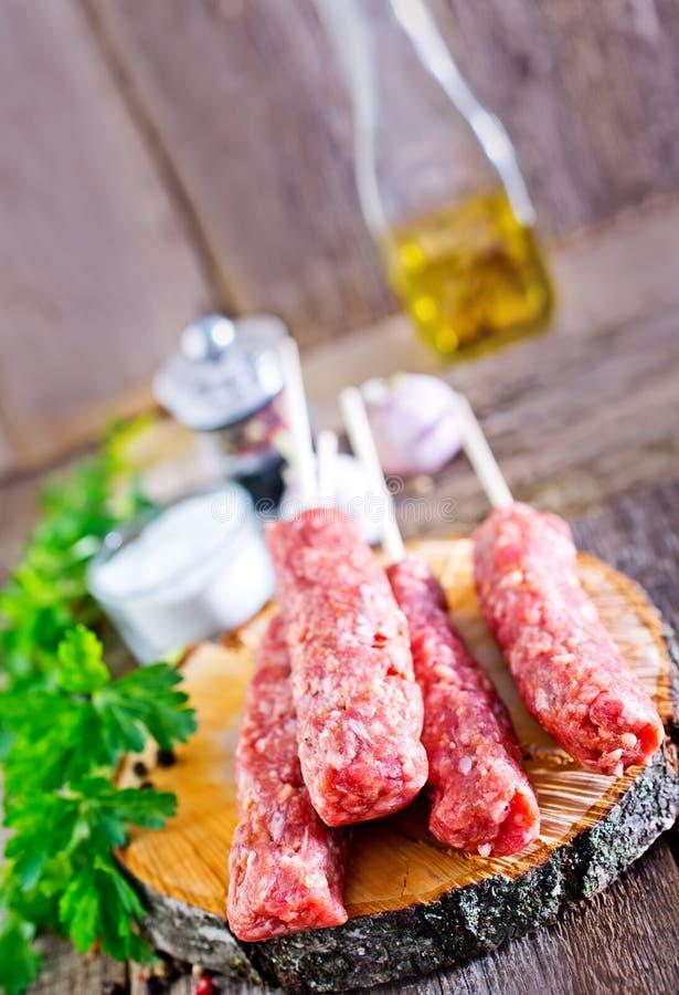 Ljulja-kebab royalty-vrije stock foto's