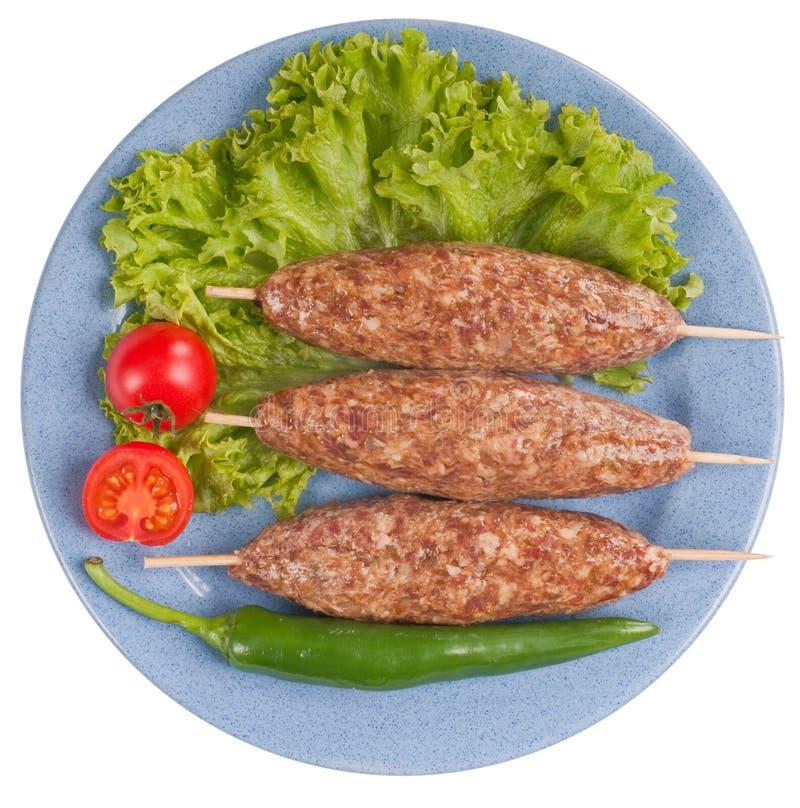 Ljulja -ljulja-kebab. royalty-vrije stock fotografie