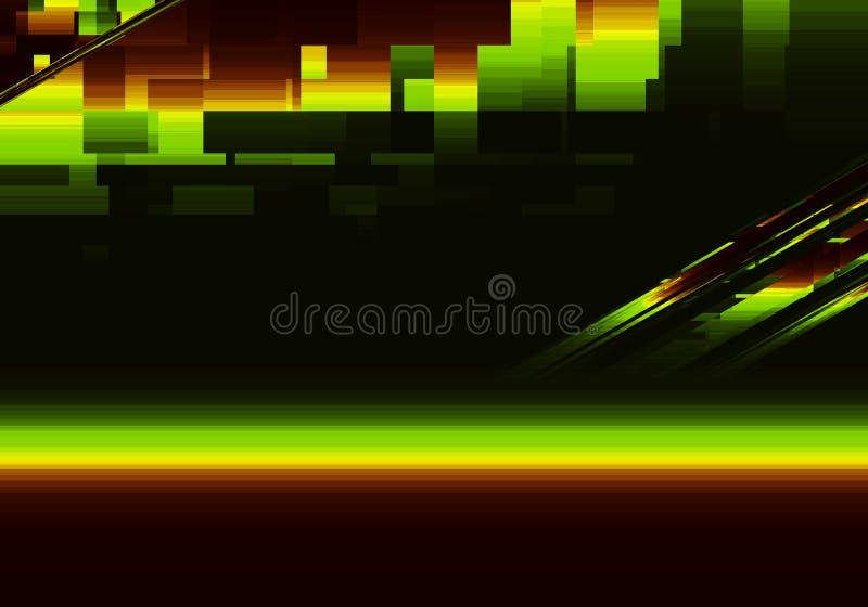 Ljus abstrakt idérik bakgrund stock illustrationer