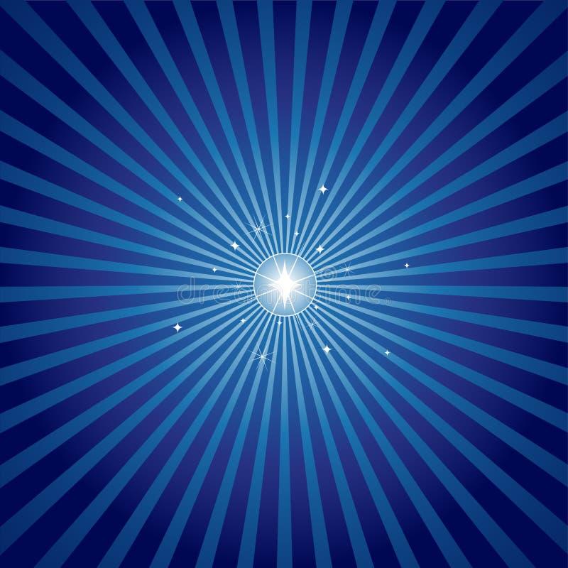 ljus aftonstjärna stock illustrationer