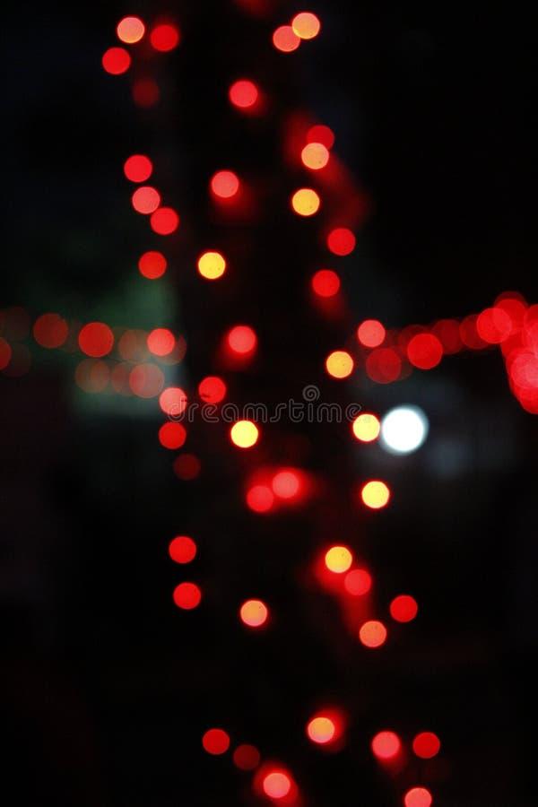 Ljus av natten fotografering för bildbyråer