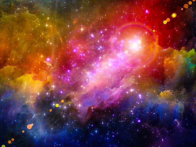 Ljus av nebulosan royaltyfri illustrationer