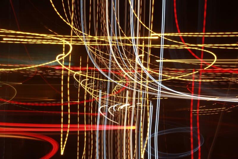 Ljus bakgrund Lightsbackgroung tänder backgroundlights arkivbilder