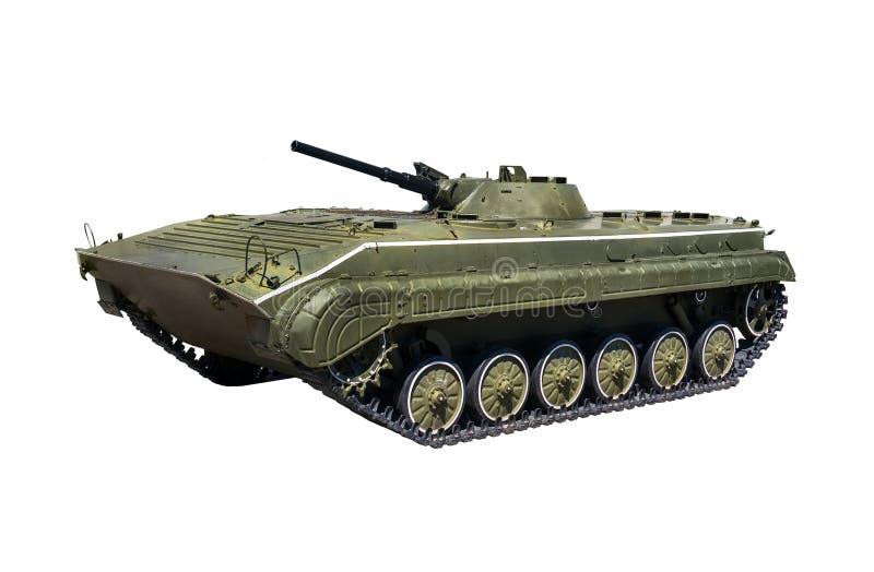 Ljus behållare BMP-2 för ryskt infanteri med den snabba banan arkivfoto
