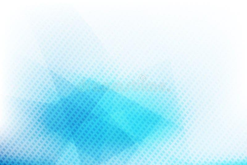 Ljus - blå abstrakt bakgrund 001 stock illustrationer