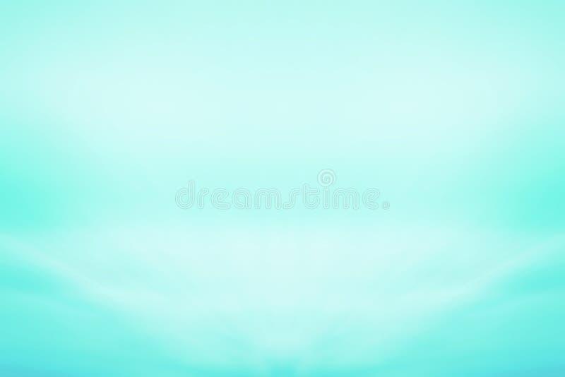 Ljus - blå mjuk bakgrund fotografering för bildbyråer
