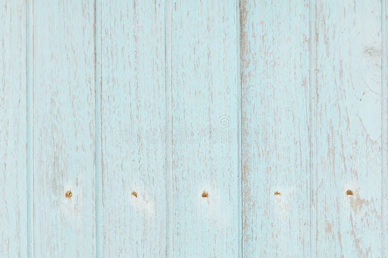 Ljus - blå trävägg arkivbilder