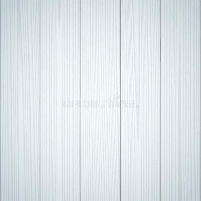 Ljus - blå wood textur stock illustrationer