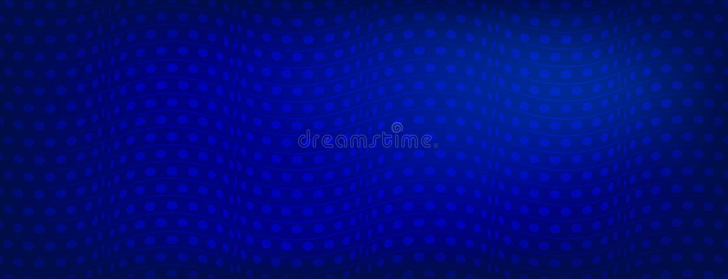 Ljus blåttabstrakt begreppbakgrund med kurvor fodrar, vektorillustrationen, idérika mallar för affärsdesign Idérik abstrakt konst vektor illustrationer