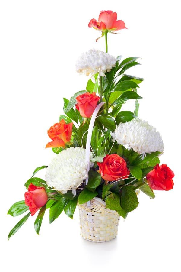 ljus blomma för bukett royaltyfria foton