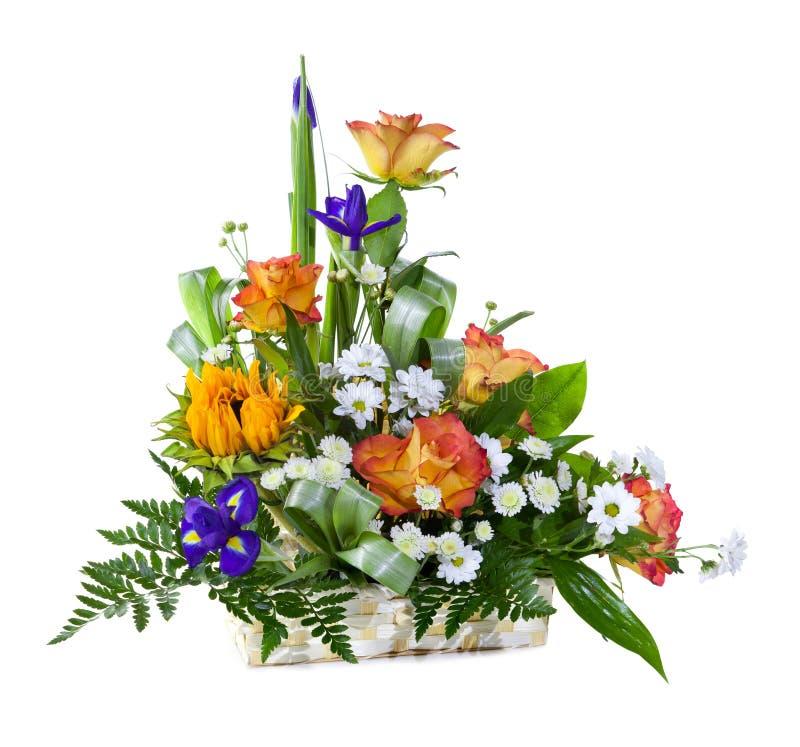 ljus blomma för bukett royaltyfri foto