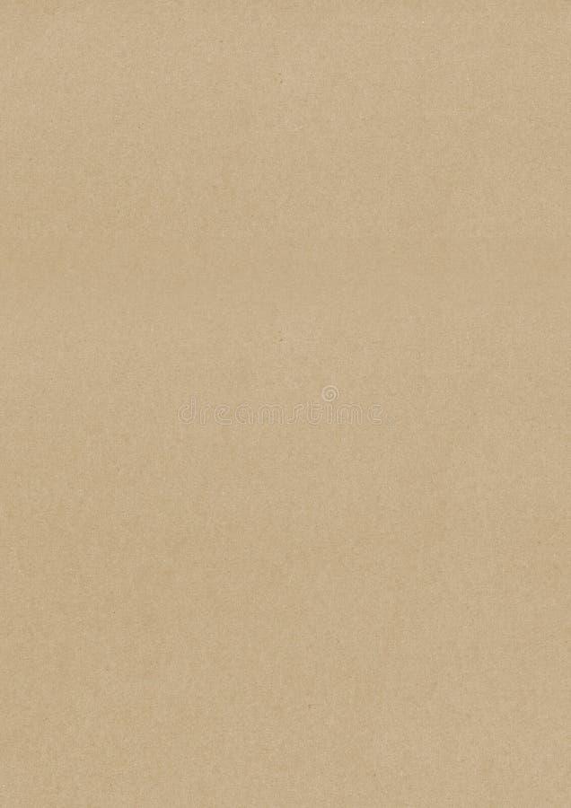 Ljus - brun retro bakgrund för stilkraft papper royaltyfri bild