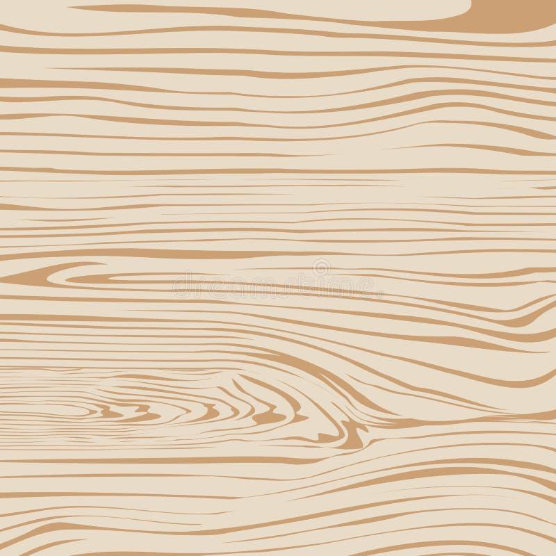 Ljus - brun träplanka, skärbräda, golv eller royaltyfri illustrationer