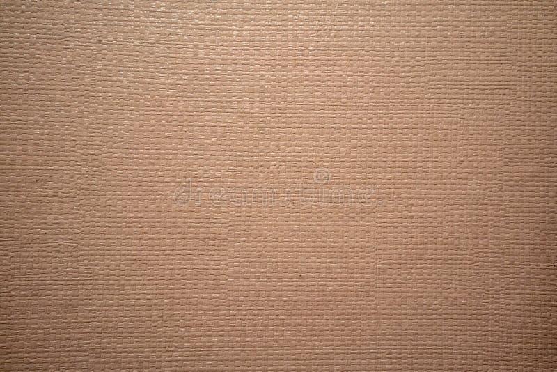 Ljus - brun vävtextur för bakgrund royaltyfri bild