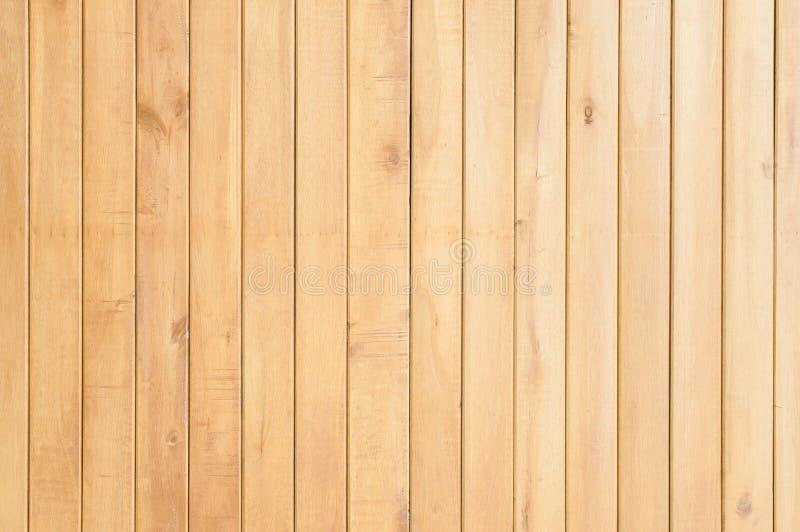 Ljus - brun wood bakgrund royaltyfria bilder
