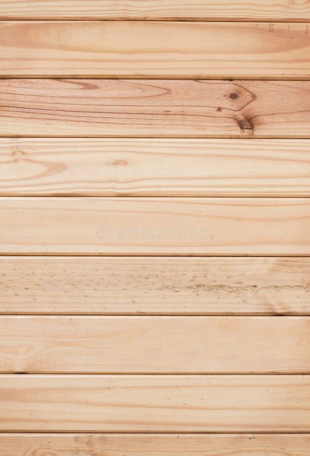 Ljus - brun wood bakgrund arkivfoto