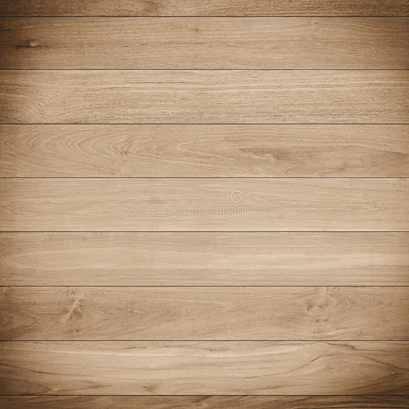 Ljus - brun wood plankatexturbakgrund arkivbild