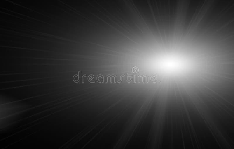 Ljus effekt med stjärnljussignalljus och moussera med en bokehsamling arkivfoto