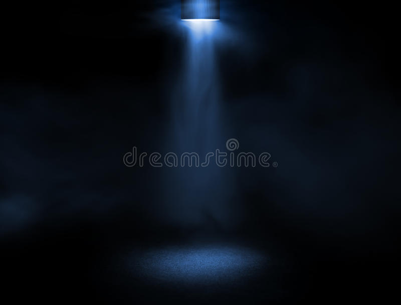 ljus etapp arkivbild
