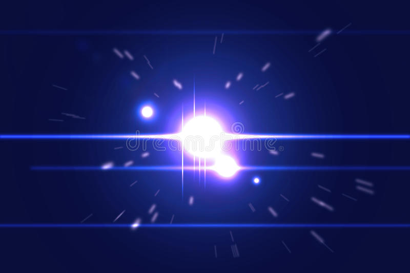 Ljus explosion arkivfoton