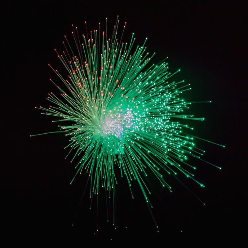 Ljus för fiberoptik gör sammandrag bakgrund, optisk bakgrund för fiber arkivbild