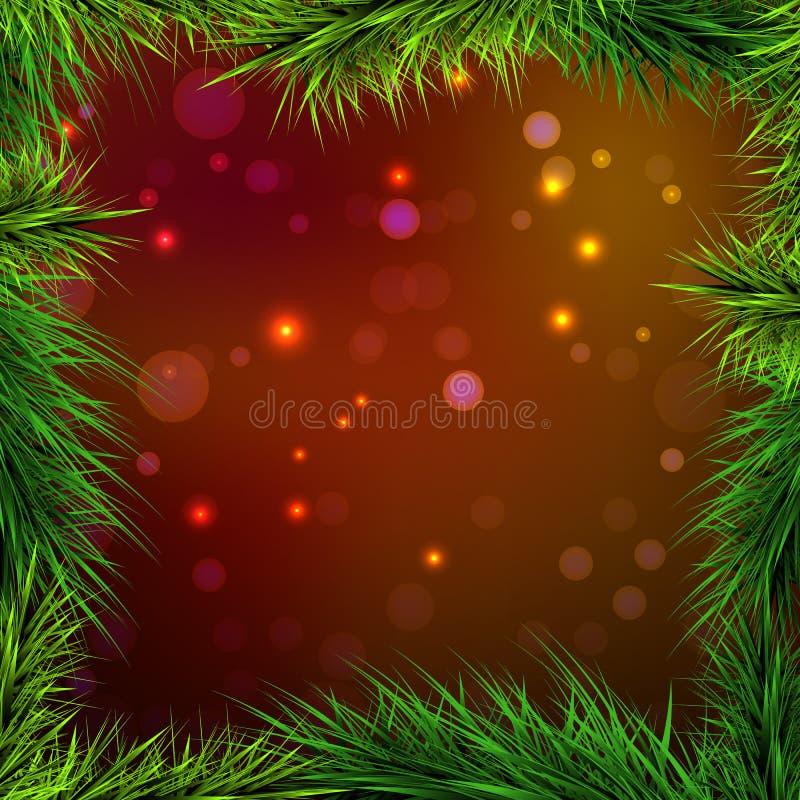 Ljus för ramgran- och röd-apelsin bakgrund, royaltyfria foton
