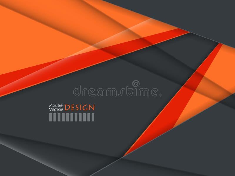 Ljus företags vektordesign vektor illustrationer