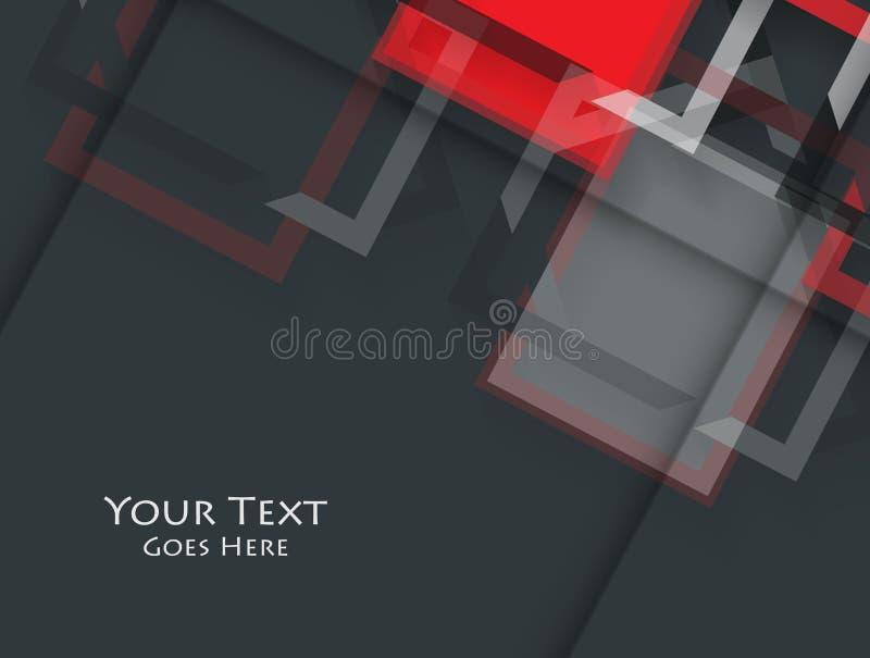 Ljus företags vektordesign royaltyfri illustrationer