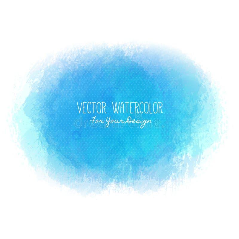 Ljus fläck Pseudovattenfärg måla textur Färgrik kludd Det kan användas som bakgrund för text stock illustrationer