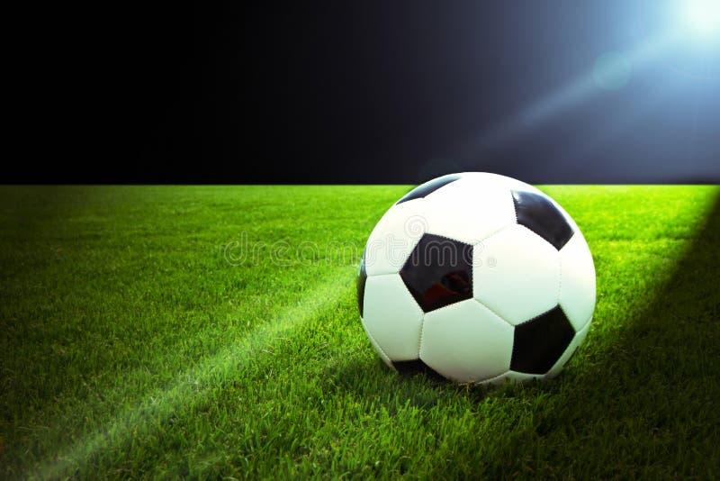 ljus fotboll arkivfoton