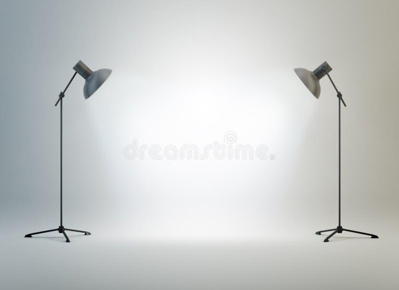ljus fotografistudio