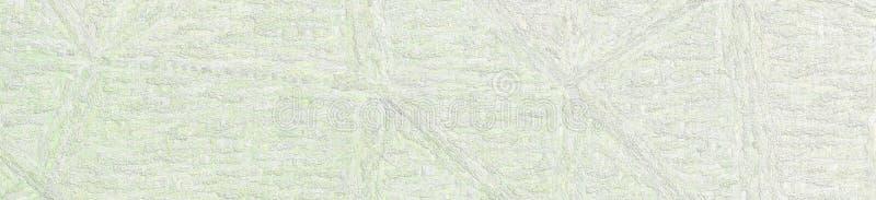 Ljus - grå impressionism Impasto i illustration för banerformbakgrund royaltyfri illustrationer