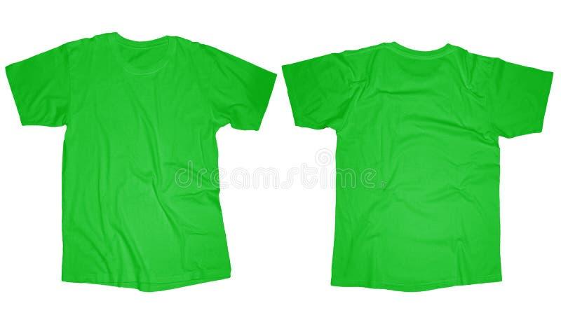 Ljus - grön T-tröjamall royaltyfri foto