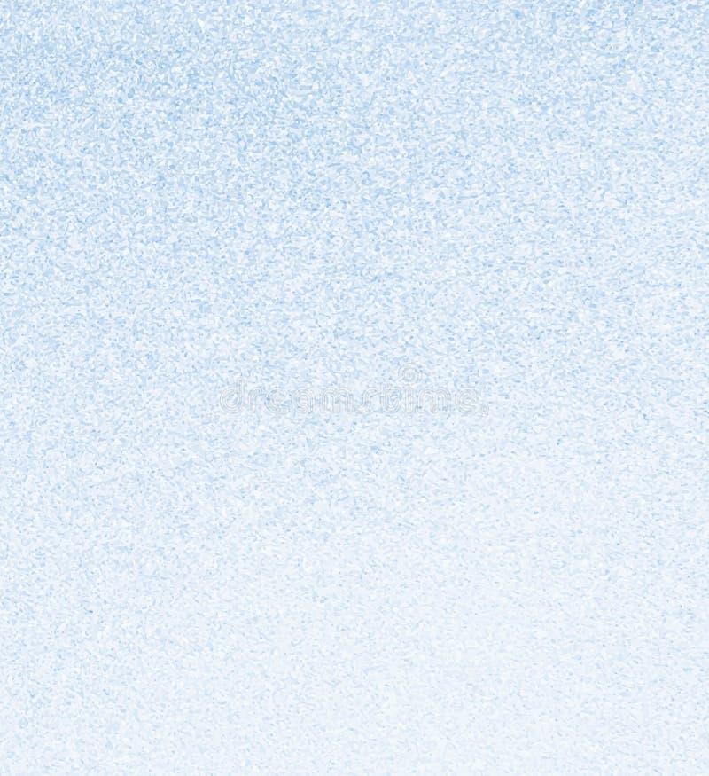 Ljus - grained bakgrund för blått fint vektor illustrationer