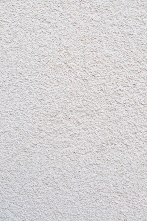 Ljus Grey Beige Plastered Wall Stucco textur, detaljerad naturlig murbruk för Gray Coarse Rustic Textured Background lodlinjebeto royaltyfria bilder