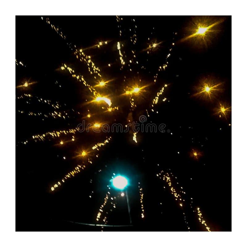 Ljus gul honnör arkivfoto
