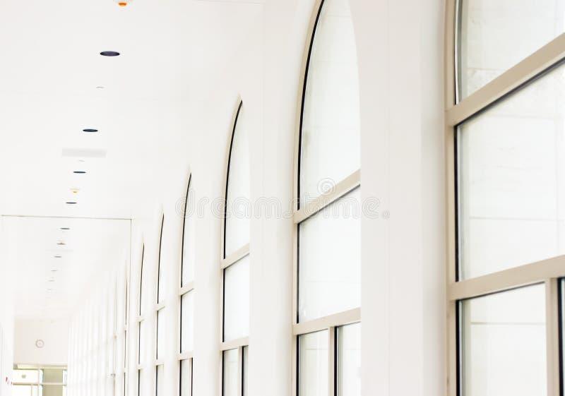 ljus korridor arkivbild