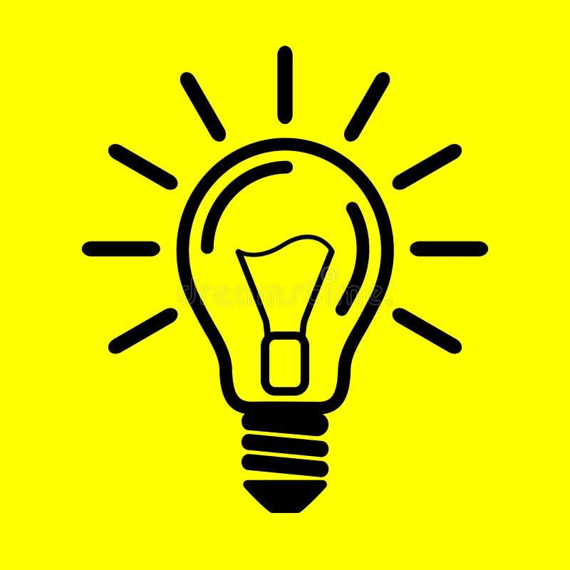 Ljus kula för symbol vektor illustrationer