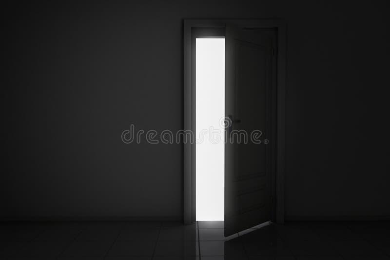 ljus lampa stock illustrationer