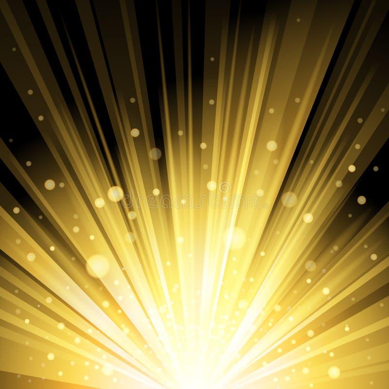 Ljus ljus bakgrund royaltyfri illustrationer