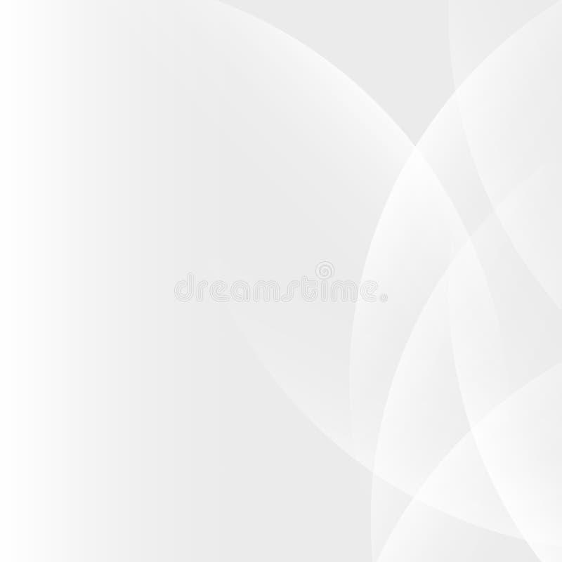 Ljus lutningbakgrund för silver vektor illustrationer
