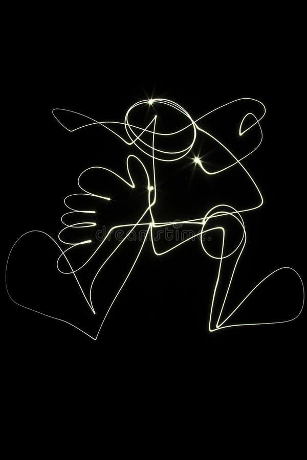 ljus målning vektor illustrationer