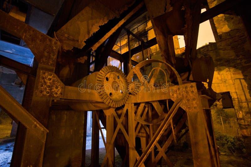 Ljus målningfabrik för mekanism royaltyfria foton