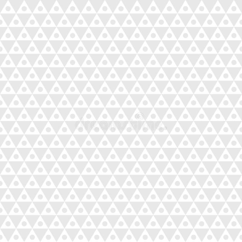 Ljus minsta sömlös geometrisk hipstermodell stock illustrationer
