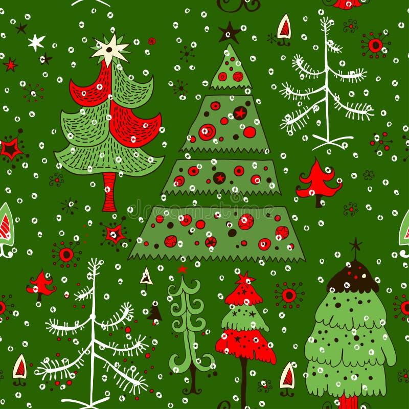 Ljus modell med julleksaker stock illustrationer