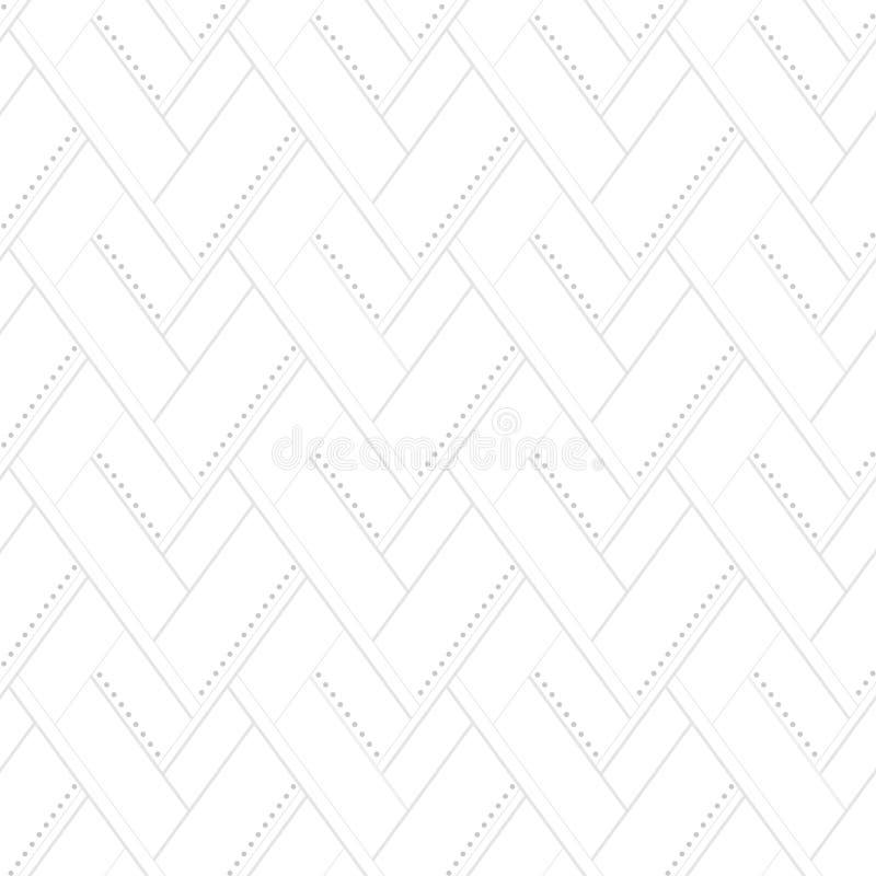 Ljus monokrom sömlös modell Rengöringsdukbakgrund stock illustrationer